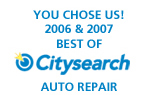 Citysearch Auto Repair Choice